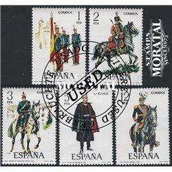 1953 España 1124/1125 Legazpi y Sorolla Personajes **MNH Perfecto Estado (Edifil)