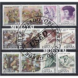 1963 - España Ed# 1516/1518 Yv# 1185/1187 ** MNH Nuevo sin Señal de Charnela Perfecto Estado. San Sebastian
