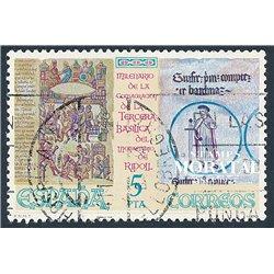 1964 - España Ed# 1590/1594 Yv# 1242/1246 ** MNH Nuevo sin Señal de Charnela Perfecto Estado. Nueva York