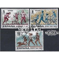 1965 - España Ed# 1674 Yv# 1334 ** MNH Nuevo sin Señal de Charnela Perfecto Estado. San Agustín