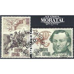 1965 - España Ed# 1689/1691 Yv# 1346/1348 ** MNH Nuevo sin Señal de Charnela Perfecto Estado. Centenario dentado