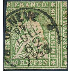1964 - Suiza Ed 735/736 © Usado, Buen Estado. Europa 64 (Edifil)