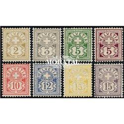 1965 - Suiza Ed 747/751 ** MNH Perfecto Estado. Pro Patria65 (Edifil)