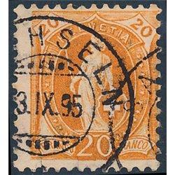 1965 - Suiza Ed 752 © Usado, Buen Estado. 60ª Entrada Cantones (Edifil)