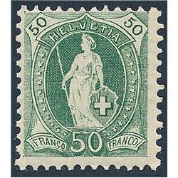 1965 - Suiza Ed 756/757 © Usado, Buen Estado. Congreso UIT (Edifil)