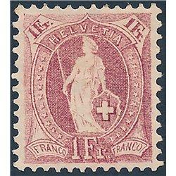 1965 - Suiza Ed 758 © Usado, Buen Estado. Europa 65 (Edifil)