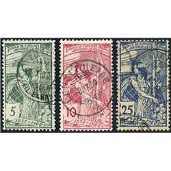 1967 - Suiza Ed 795/798 © Usado, Buen Estado. Serie Corriente (Edifil)