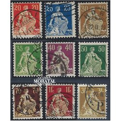 1968 - Suiza Ed 807/810 © Usado, Buen Estado. Pro Patria 68 (Edifil)