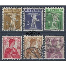 1968 - Suiza Ed 811/814 ** MNH Perfecto Estado. Aniversarios (Edifil)