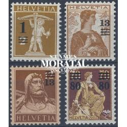 1969 - Suiza Ed 828/831 ** MNH Perfecto Estado. Propaganda (Edifil)