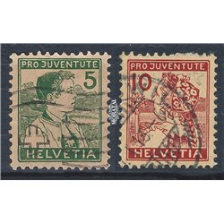 1969 - Suiza Ed 834/837 © Usado, Buen Estado. Pro Patria 69 (Edifil)