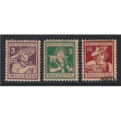 1969 - Suiza Ed 838/840 ** MNH Perfecto Estado. Alpes Suizos (Edifil)