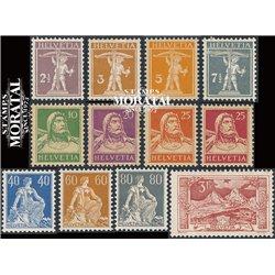 1969 - Suiza Ed 846/849 ** MNH Perfecto Estado. Pro Juventud 69 (Edifil)