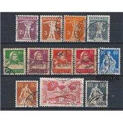 1969 - Suiza Ed 846/849 © Usado, Buen Estado. Pro Juventud 69 (Edifil)