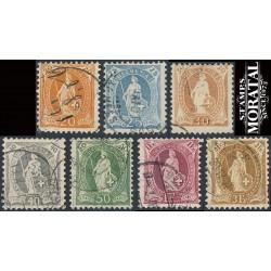 1970 - Suiza Ed 850/854 ** MNH Perfecto Estado. Propaganda (Edifil)