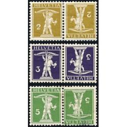 1970 - Suiza Ed 861/863 ** MNH Perfecto Estado. Serie Corriente (Edifil)