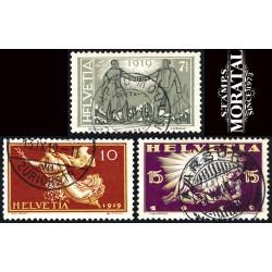 1971 - Suiza Ed 891/894 © Usado, Buen Estado. Pro Juventud 71 (Edifil)