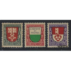 1972 - Suiza Ed 895/898 © Usado, Buen Estado. Propaganda (Edifil)