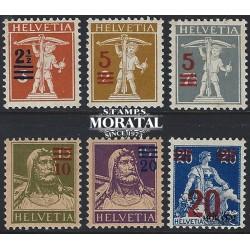 1972 - Suiza Ed 905/908 ** MNH Perfecto Estado. Alpes Suizos (Edifil)
