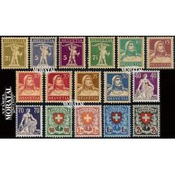 1973 - Suiza Ed 930/932 ** MNH Perfecto Estado. Propaganda (Edifil)
