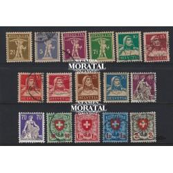 1973 - Suiza Ed 930/932 © Usado, Buen Estado. Propaganda (Edifil)