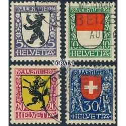 1973 - Suiza Ed 943/946 ** MNH Perfecto Estado. Pro Juventud 73 (Edifil)