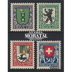1973 - Suiza Ed 943/946 © Usado, Buen Estado. Pro Juventud 73 (Edifil)