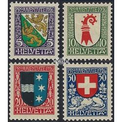 1974 - Suiza Ed 947/949 ** MNH Perfecto Estado. Propaganda (Edifil)