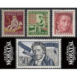 1974 - Suiza Ed 947/949 © Usado, Buen Estado. Propaganda (Edifil)