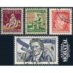 1974 - Suiza Ed 954/955 ** MNH Perfecto Estado. Europa 74 (Edifil)