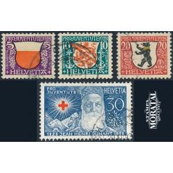 1974 - Suiza Ed 958/960 ** MNH Perfecto Estado. Centenario UPU (Edifil)