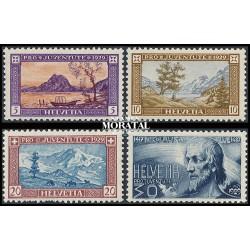 1974 - Suiza Ed 958/960 © Usado, Buen Estado. Centenario UPU (Edifil)