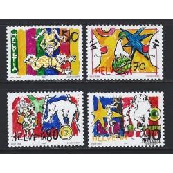 """2001 - Suiza Ed 1684 © Usado, Buen Estado. """"Choco Suisse"""" (Edifil)"""