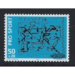 2001 - Suiza Ed 1685 © Usado, Buen Estado. Serie Corriente. Correo prioritario A (Edifil)