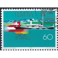 2002 - Suiza Ed 1703/1706 © Usado, Buen Estado. Ferrocarriles Federales (Edifil)