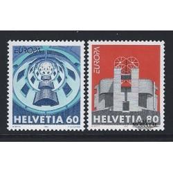 2002 - Suiza Ed 1707/1708 ** MNH Perfecto Estado. Aniversarios (Edifil)