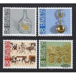 2002 - Suiza Ed 1709 ** MNH Perfecto Estado. 50º Rega. Salvamento Montaña (Edifil)