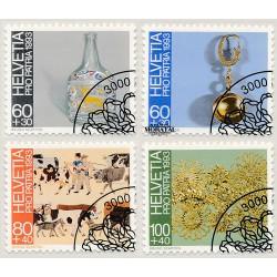 2002 - Suiza Ed 1709 © Usado, Buen Estado. 50º Rega. Salvamento Montaña (Edifil)