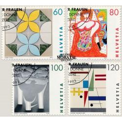 2002 - Suiza Ed 1714/1717 © Usado, Buen Estado. Pro Patria 02. Molinos de Agua (Edifil)
