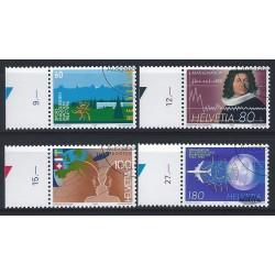 2002 - Suiza Ed 1727/1730 ** MNH Perfecto Estado. Serie Corriente. Insectos (Edifil)