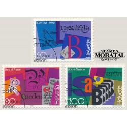 2002 - Suiza Ed 1731 ** MNH Perfecto Estado. Sellos con Mensaje. Mariquita (Edifil)
