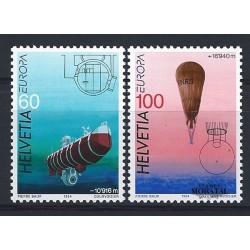 2002 - Suiza Ed 1732/1733 © Usado, Buen Estado. Serie Corriente. Minerales (Edifil)