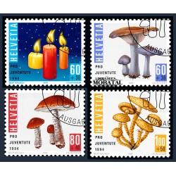 2003 - Suiza Ed 1745/1751 ** MNH Perfecto Estado. Serie Corriente. Plantas medicinales (Edifil)