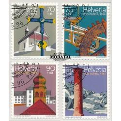 2003 - Suiza Ed 1778/1781 ** MNH Perfecto Estado. Pro Juventud 03. Navidad (Edifil)