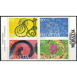 2003 - Suiza Ed 1786/1788 © Usado, Buen Estado. Serie Corriente. Diseño Suizo (Edifil)