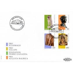 2004 - Suiza Ed 1794/1797 ** MNH Perfecto Estado. Tiras Cómicas. Titeuf (Edifil)