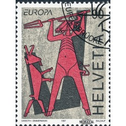 2004 - Suiza Ed 1800 © Usado, Buen Estado. J.O. Atenas 04 (Edifil)