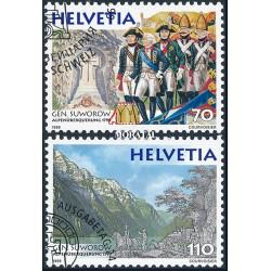 2005 - Suiza Ed 1849/1850 © Usado, Buen Estado. Conejo Félix, Personaje Infantil (Edifil)
