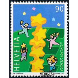 2005 - Suiza Ed 1854 ** MNH Perfecto Estado. Seire Corriente. Diseño Suizo. Portaminas (Edifil)