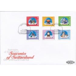 2005 - Suiza Ed 1857/1858 © Usado, Buen Estado. Relojería Suiza (Edifil)